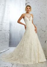 New Angelina Faccenda Kailani 1708 Wedding Gown Size 14