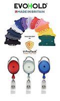 Badge Reel & Id Card Holder - YoYo Retractable Photo Identity Pass