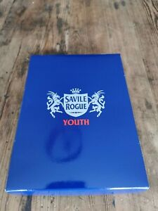 Savile Rogue Youth - Red and White football socks Size 6-8 UK