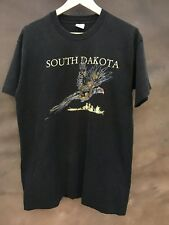 Vintage 1980s South Dakota Tourist Pheasant Hunting Hipster T-Shirt M L USA