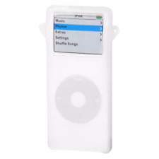 Silicone Skin Cover for 1st Generation iPod Nano - Clear