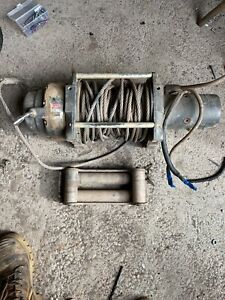 Warn M12000 Low Mount Winch Commercial 4x4 4wd 12000 Pound
