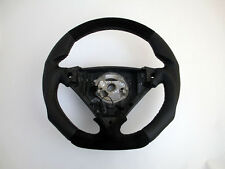 Custom PORSCHE Cayenne 7L5 955/957 Steering Wheel Flat Bottom Thick BLACK ONLY