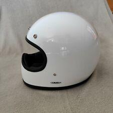 DMD Racer S Motorradhelm Helm Racer S Weiß