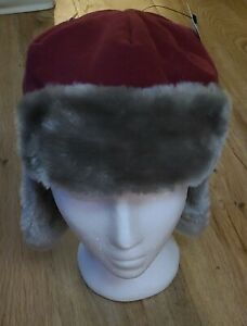 Boston College Eagles BC Ear Flap Winter Trooper Hat Top Of The World NWT