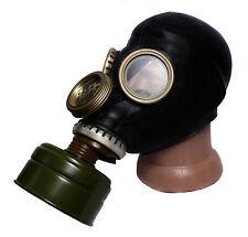 Soviet Russian Military  GP 5 M black PMG 2 Ussr Military GAS Mask Full Set