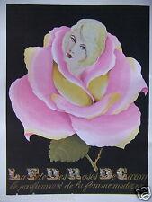 PUBLICITÉ 1961 LA FÊTE DES ROSES DE CARON PARFUM DE FEMME MODERNE - ADVERTISING