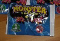MONSTER IN MY POCKET NEON MIMP SERIES 1 BRAND NEW & SEALED BOOSTER PACK 1990 NEW
