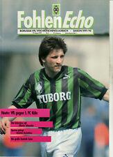 BL 91/92 Borussia Mönchengladbach - 1. FC Köln