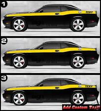 Retro Decal Stripes Fits 2009 And Up Dodge Challenger Srt 8 Rt Sxt Se