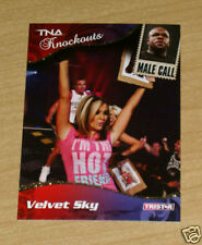 Tristar TNA Knockouts Velvet Sky #89 GOLD parallel 2/10