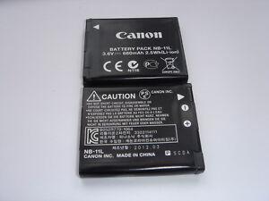 Batería Original CANON NB-11L Batería Digital Ixus 240 Hs
