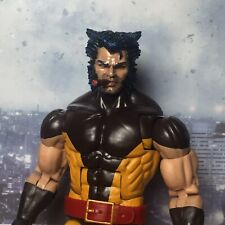 Marvel Legends Custom #100 WOLVERINE Head ONLY Smoking Cigar parts Cast Painted!