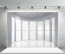 7x5ft Office Window Backdrops Business City View Photography Background Studio
