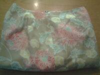 Women's Worthington Size 12 L Large Beige Silk Blend Dress Pants Ships Free!!