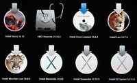 USB 2.0/3.0/3.1 pen drive 64GB ALL IN ONE Apple Mac OS X El Capitan 10.11 10.6.3