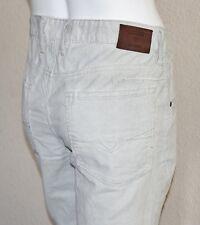 GUESS Men's Almeda Slim Tapered Corduroy Pants – Light Khaki sz 33