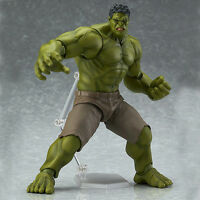 Marvel Avengers Figma 271 Hulk Toy Movable Action Hero Figure Doll Model Gift