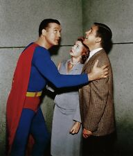 RARE STILL  TV's  SUPERMAN GEORGE REEVES AND CAST TRAPPED