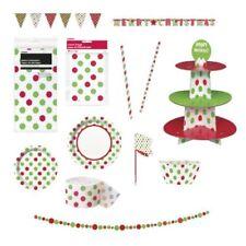 Decoración y menaje Color principal Verde Navidad para mesas de fiesta, Navidad