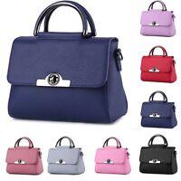 New Women Leather Handbag Shoulder Cross Body Bag Tote Messenger Satchel Purse