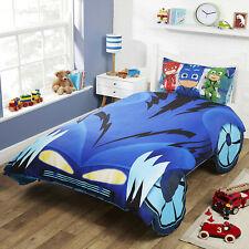 PJ Masks Catboy Car Shaped Single Duvet Cover Quilt Cover Bedding Childrens