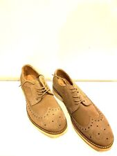 H By Hudson Wingtip Suede Shoes Size 9 New With Box