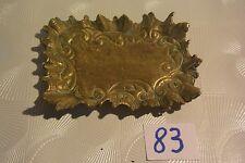 C83 Ancien cendrier en cuivre Art nouveau