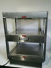 "(No Glass Panels) Nemco 6480-18S Stainless Steel 18"" Hot Food Display Warmer"