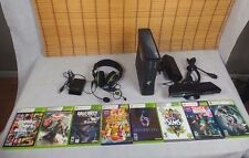 Xbox 360 250 GB Console, KINECT, 1 CONTROLLERS, HEADSET, 8 GAMES
