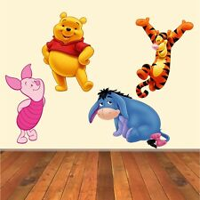 Disney Winnie The Pooh Vinyl Decal Wall Art Stickers   4 Character Selection