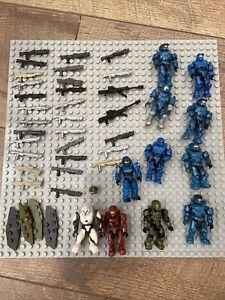 Halo Mega Construx Spartan And Weapon Lot