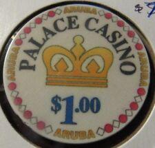 Vintage Palace Casino Pocos de Caldas, Aruba Casino Chip - Poker Blackjack
