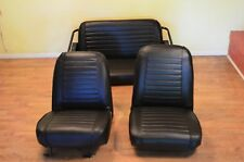 International scout 800 fronts  upholstery IH original stock black