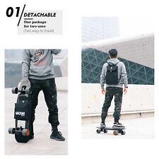 Waterproof Skateboard Longboard Shoulder Bag Double Rocker Carry Bag Backpack