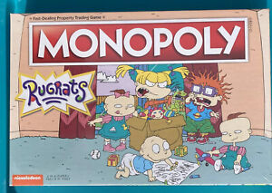 Factory Sealed USAOPOLY Rugrats  Monopoly Family Board game