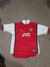 Vintage Arsenal Fc 1998 1999 Jvc Nike Football Jersey Shirt Large
