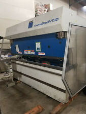 144 Ton X 10' Trumpf Model TrumaBend V130 CNC Hydraulic Press Brake -  MFG 1994