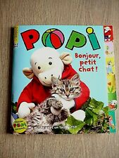REVUE   POPI   N° 415  -  MARS  2021  /  BONJOUR  , PETIT  CHAT  !