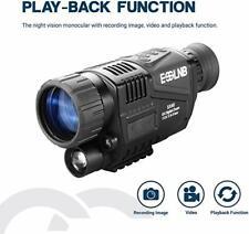5X40 Night Vision Monocular   Infrared IR Camera For Hunting