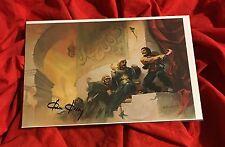 SWORDS OF ARABIA~FPG COLOSSAL CARD SIGNED BY CONAN & KISS ARTIST KEN KELLY #48~