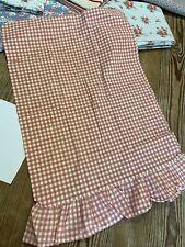 Ralph Lauren Standard Pink Gingham Cotton Pillowcase Ruffeled Medium Checks