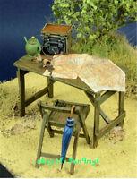 1/35 Model Kits Accessories War Scenes Resin Desk GK Unpainted Unassembled Sets