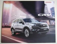 Honda . CR-V . Honda CRV . May 2016 Sales Brochure