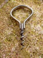 grandioser alter Korkenzieher Corkskrew Klappkorkenzieher Metall Sammlerstück
