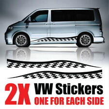 VW TRANSPORTER Camper Van CARAVELLE Graphics Decals Stickers T4 T5 Caddy