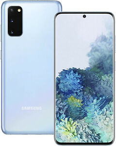 New Samsung Galaxy S20 4G 128GB Cloud Blue SM-G980F Sim Free Unlocked UK