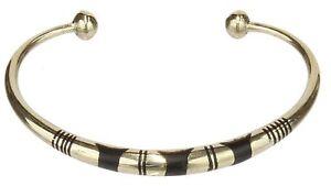 Niger Bend Tuareg Brass Bracelet