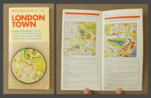 1969, NICHOLSON'S GUIDE to LONDON TOWN: in 32 MAPS - Pubs, Restaurants & Sights