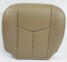 2003 GMC Sierra 1500/ HD 2500 / HD 3500,HD Driver Bottom LEATHER Seat Cover TAN